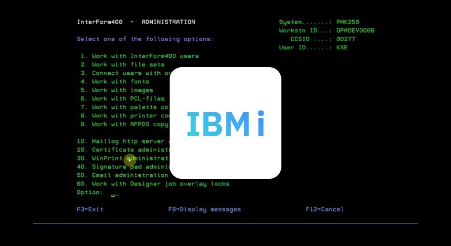 Output Mangement for IBM i